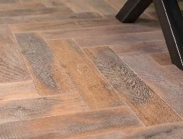 Verouderde houten vloer parket vloeren centrum utrecht