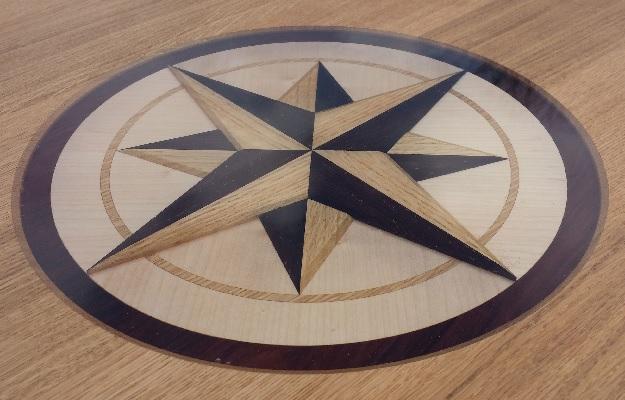 sterpatronen houten vloer